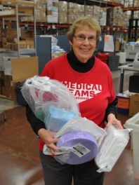 Medical Teams International, Tigard - Packing Medical Supplies for Int'l Shipment