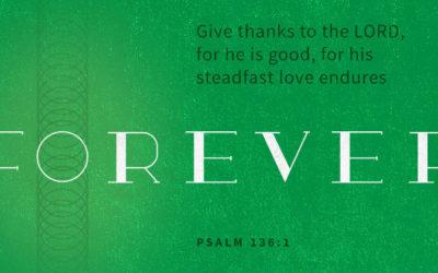 Giving Thanks for God's Forever Love