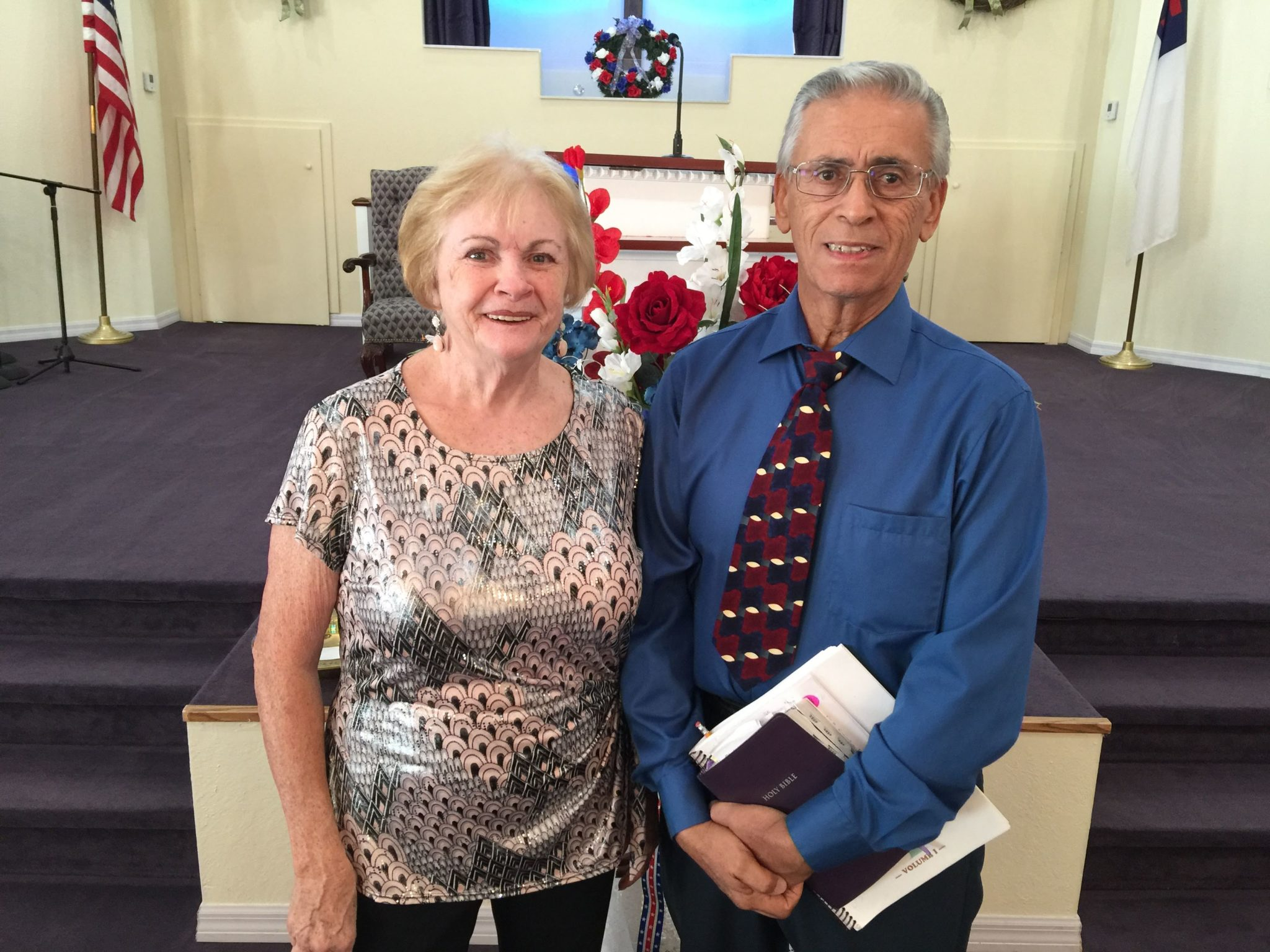 Chuck & Carolyn Benitez