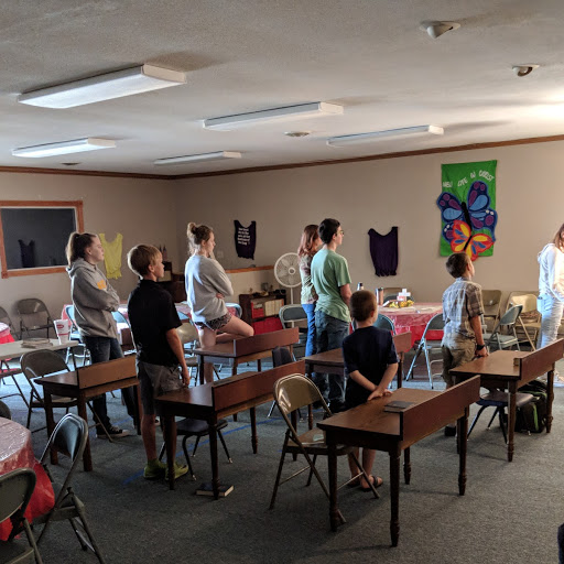 Youth Service - (special back to school theme in one room school setting)