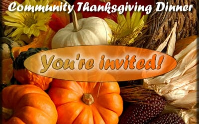 Community Thanksgiving Service and Meal