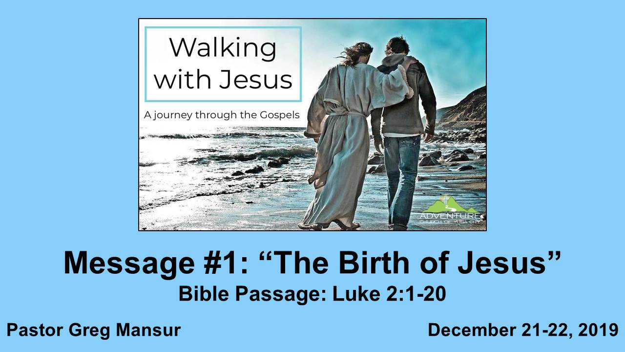 1-The Birth Of Jesus