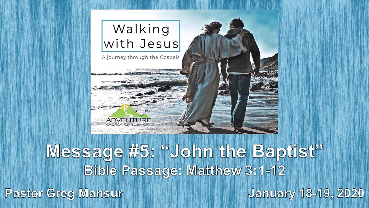 5-John The Baptist