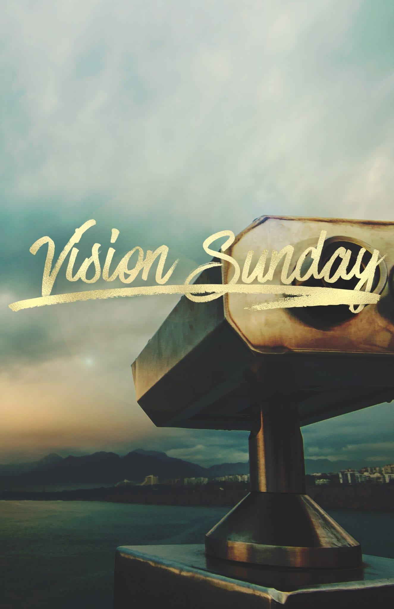 """Vision Sunday, """"SPONSORSHIP"""""""