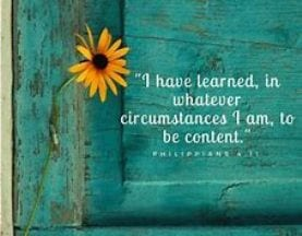The Secret of Contentment in the Storm