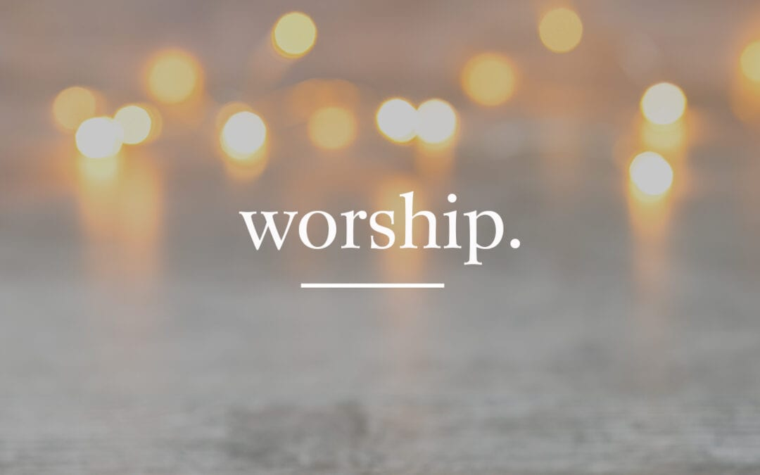 Streamed Worship Service