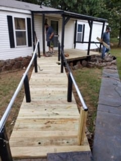 UMM building a ramp