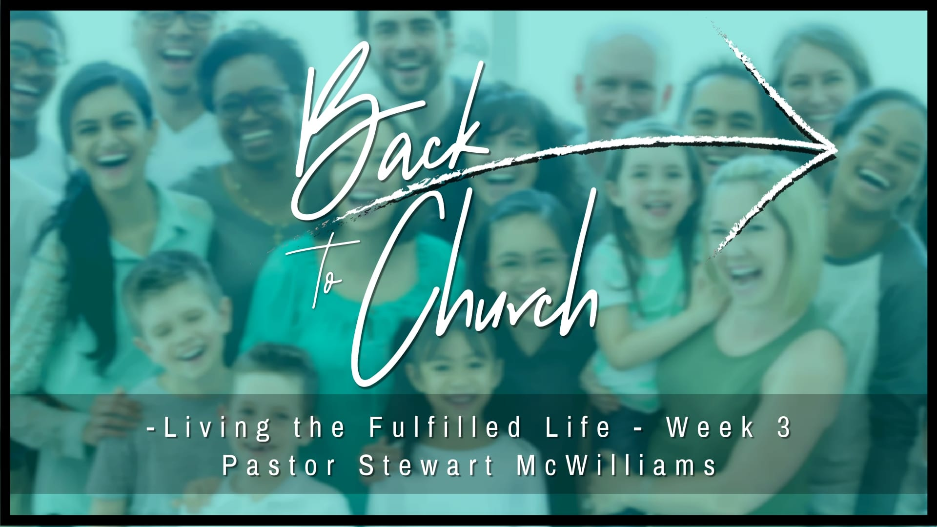 Back to Church – Week 3 – The Church is United – 8th Street