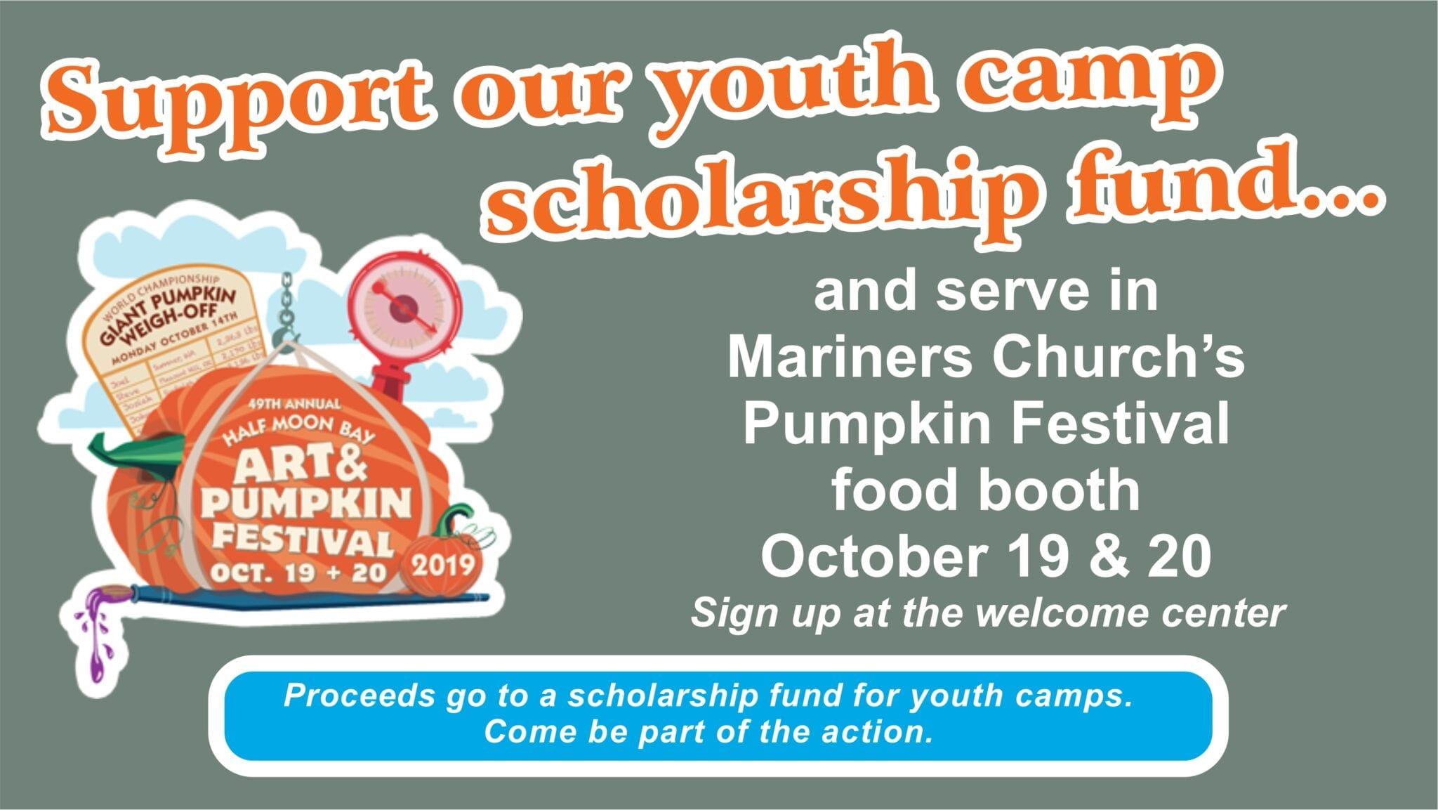 Pumpkin Festival Food Booth