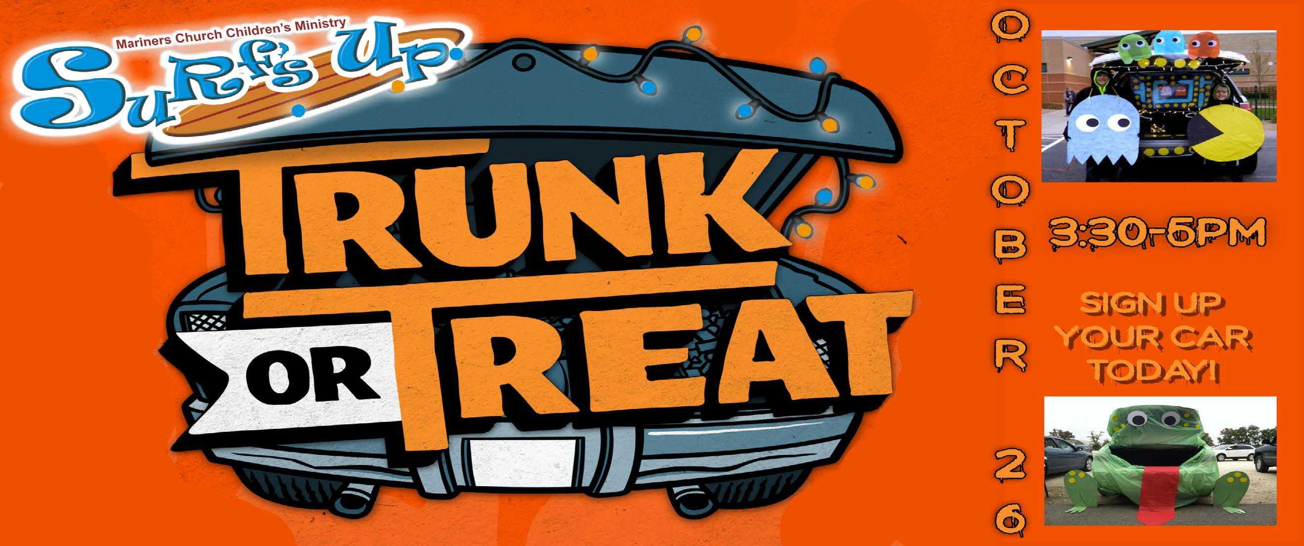 """Host a Trunk Or Treat Car 'Booth"""""""