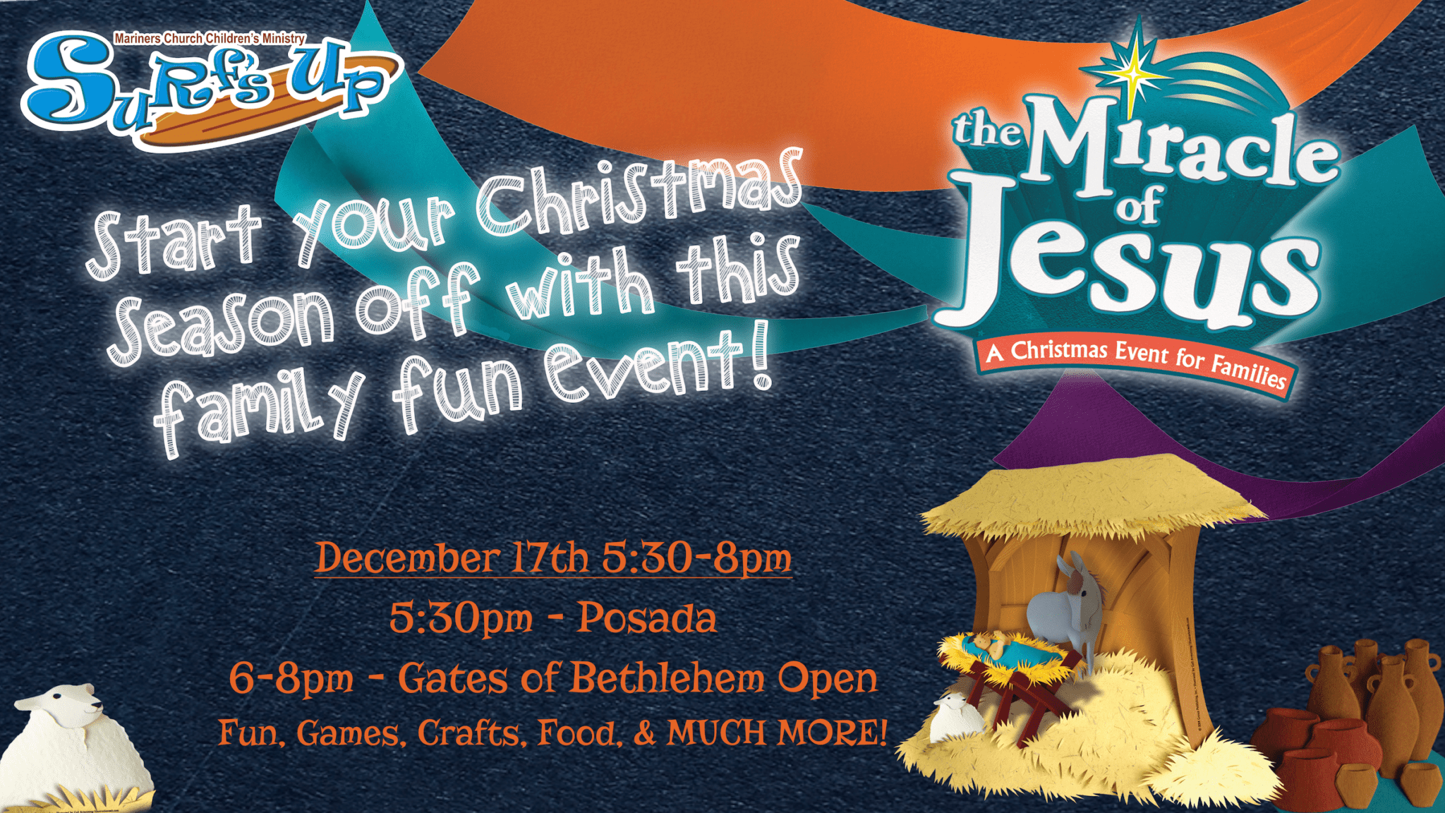 Miracle of Jesus Family Fun Event