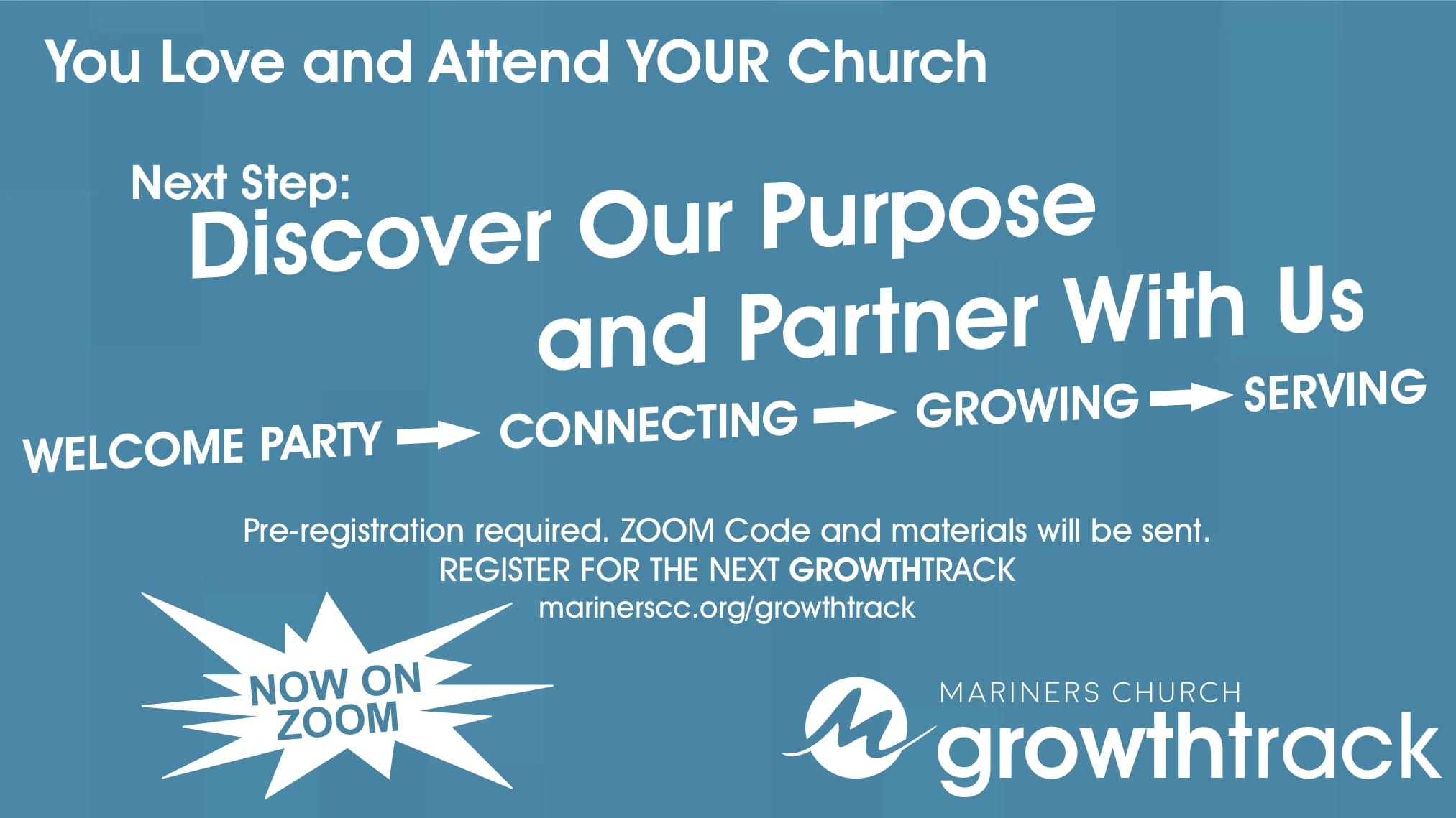GrowthTrack, Your Next Step to Discover and Partner With YOUR Church