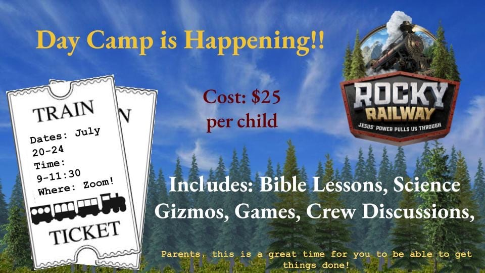 Don't Let your Kids miss Day Camp!