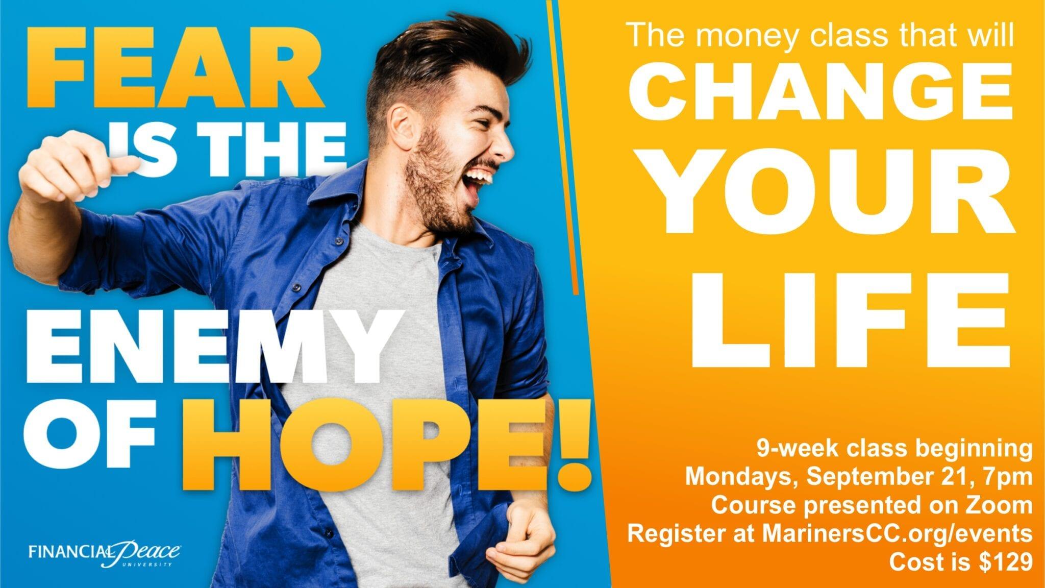 Financial Peace Class Beginning September 21