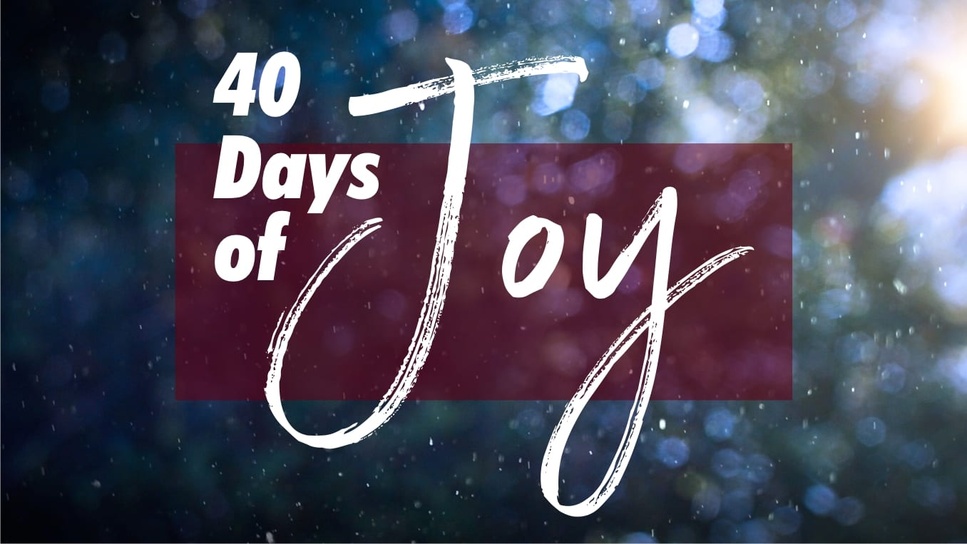 The Joy Jesus Brings