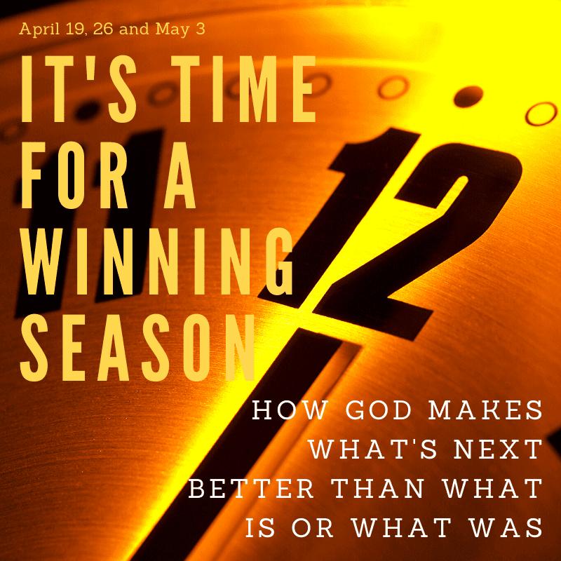 Final Steps To A Winning Season