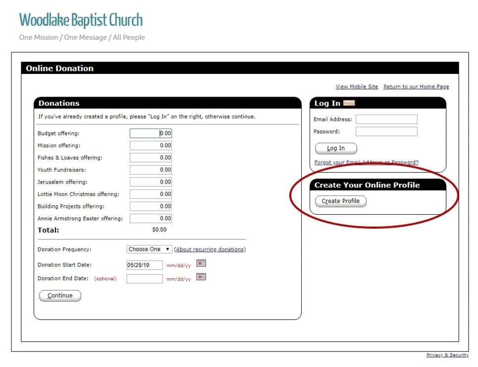 Give | Woodlake Baptist Church