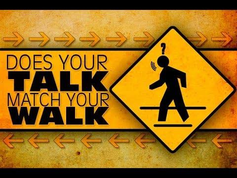 Image result for walk the walk talk the talk