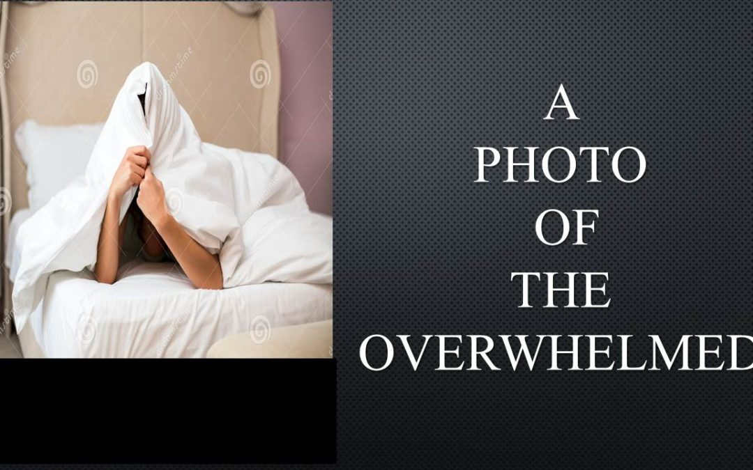 A Photo of the Overwhelmed