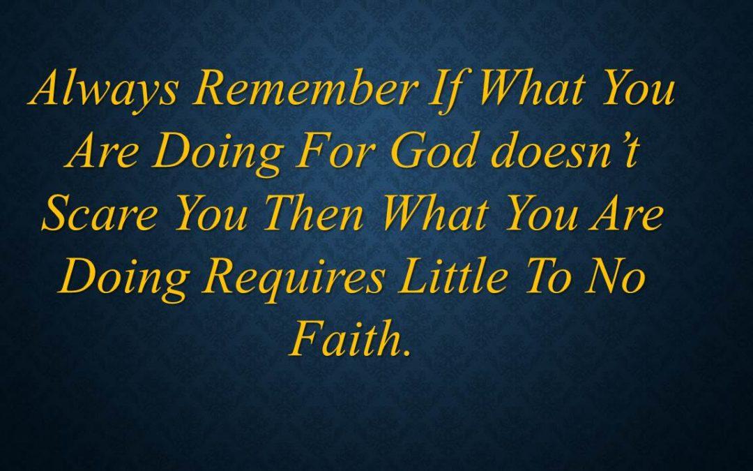 Risk and Faith
