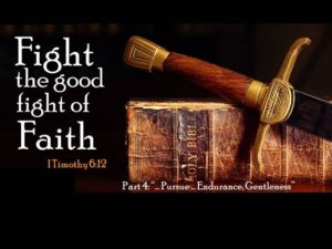 Fight the Good Fight of Faith | Wellspring Community Church