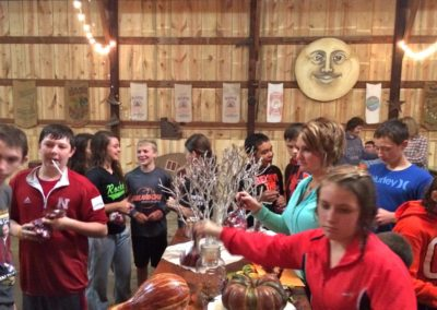 Confirmation Family Night at Pumpkin Patch