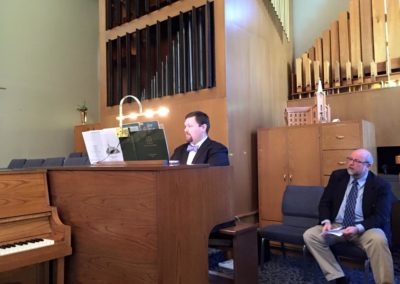 Pipe Organ Dedication-2015
