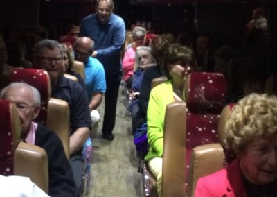 "Bus Trip to ""Under the Streetlamp"" Concert"