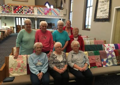 Some of Our Quilters 2016