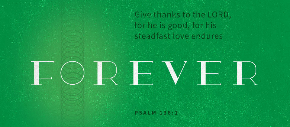 Giving Thanks for God's Forever Love