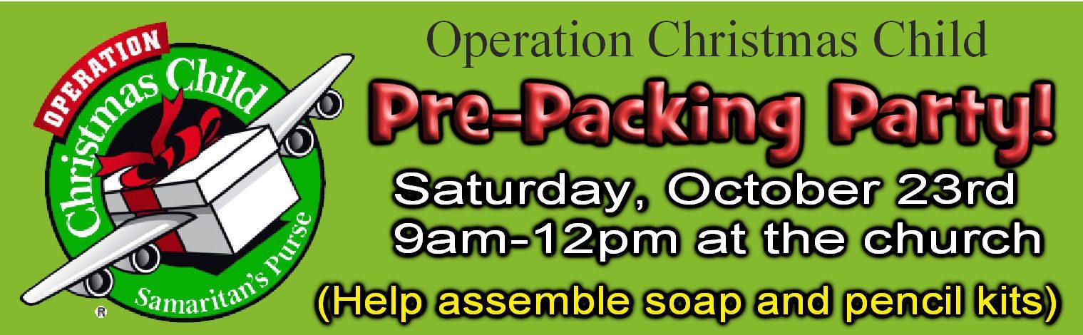occ pree packing