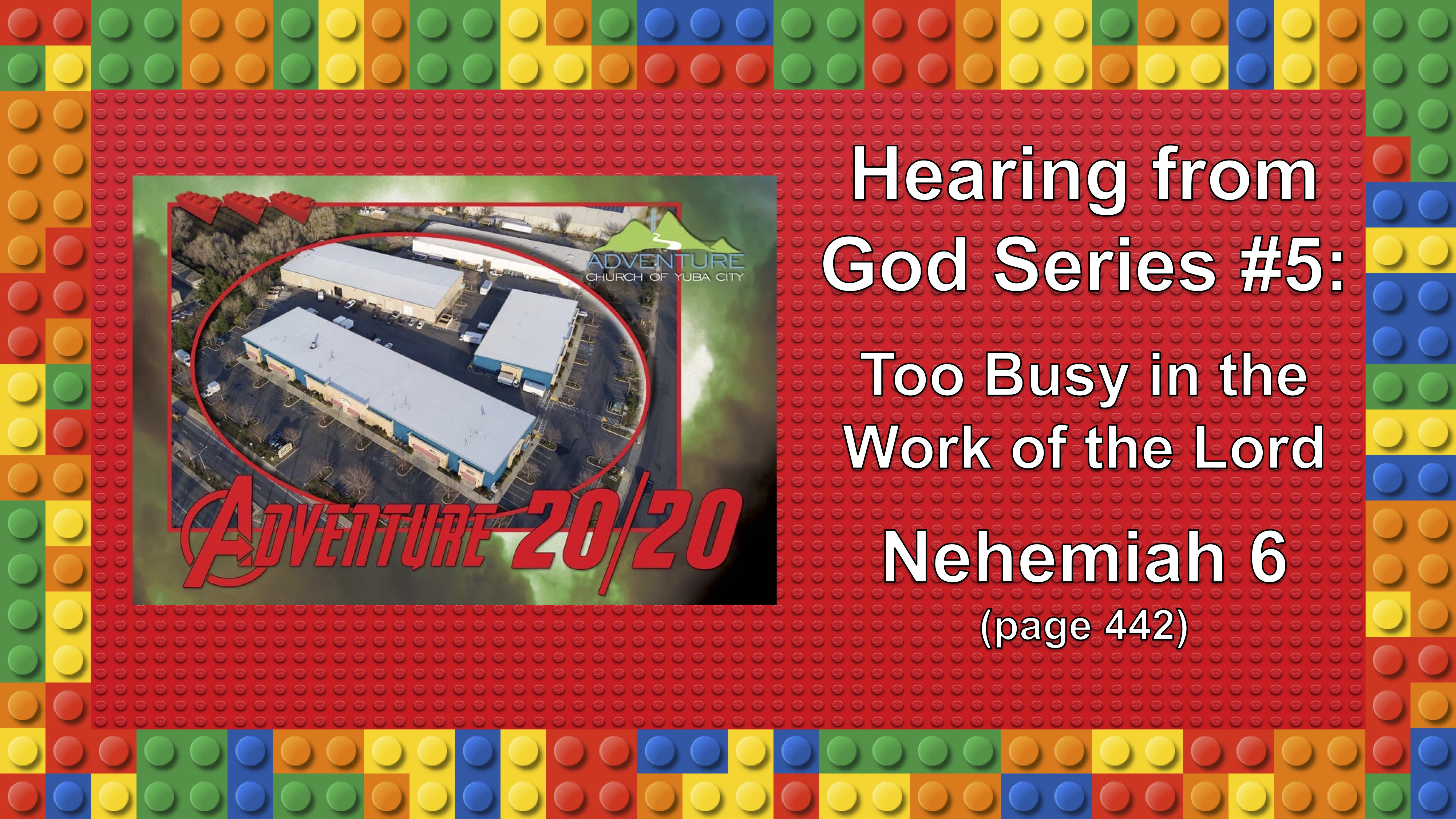 5-Too Busy In The Work Of The Lord