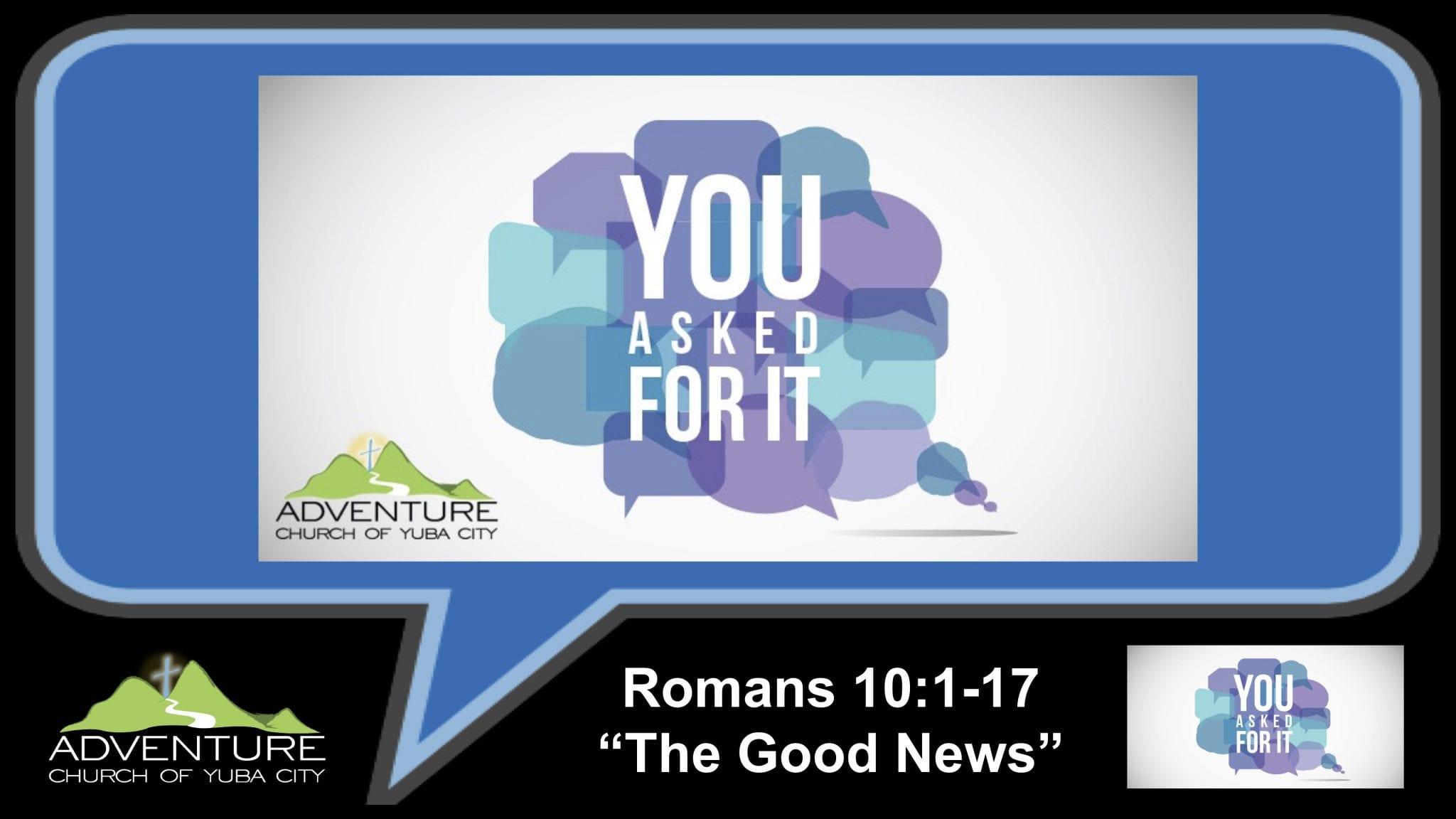 3-The Good News