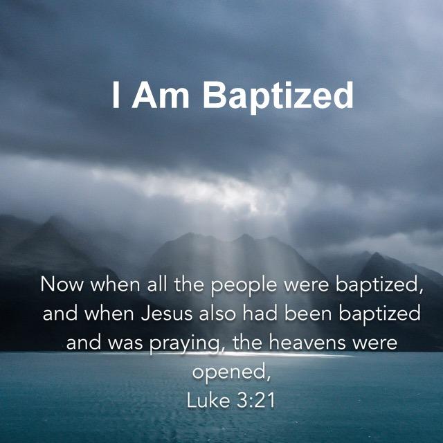 I am Baptized