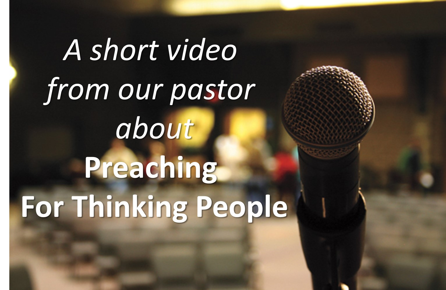 Sermons for thinking people | Generations Community Church