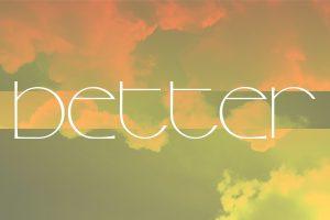 Better message series logo