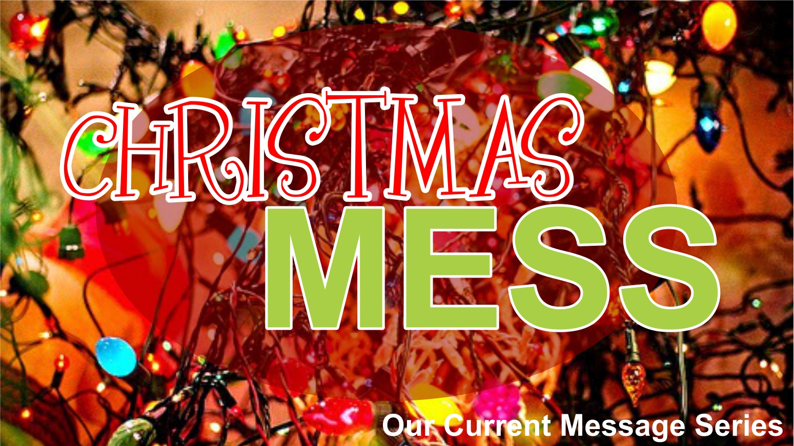 Christmas Mess message series logo
