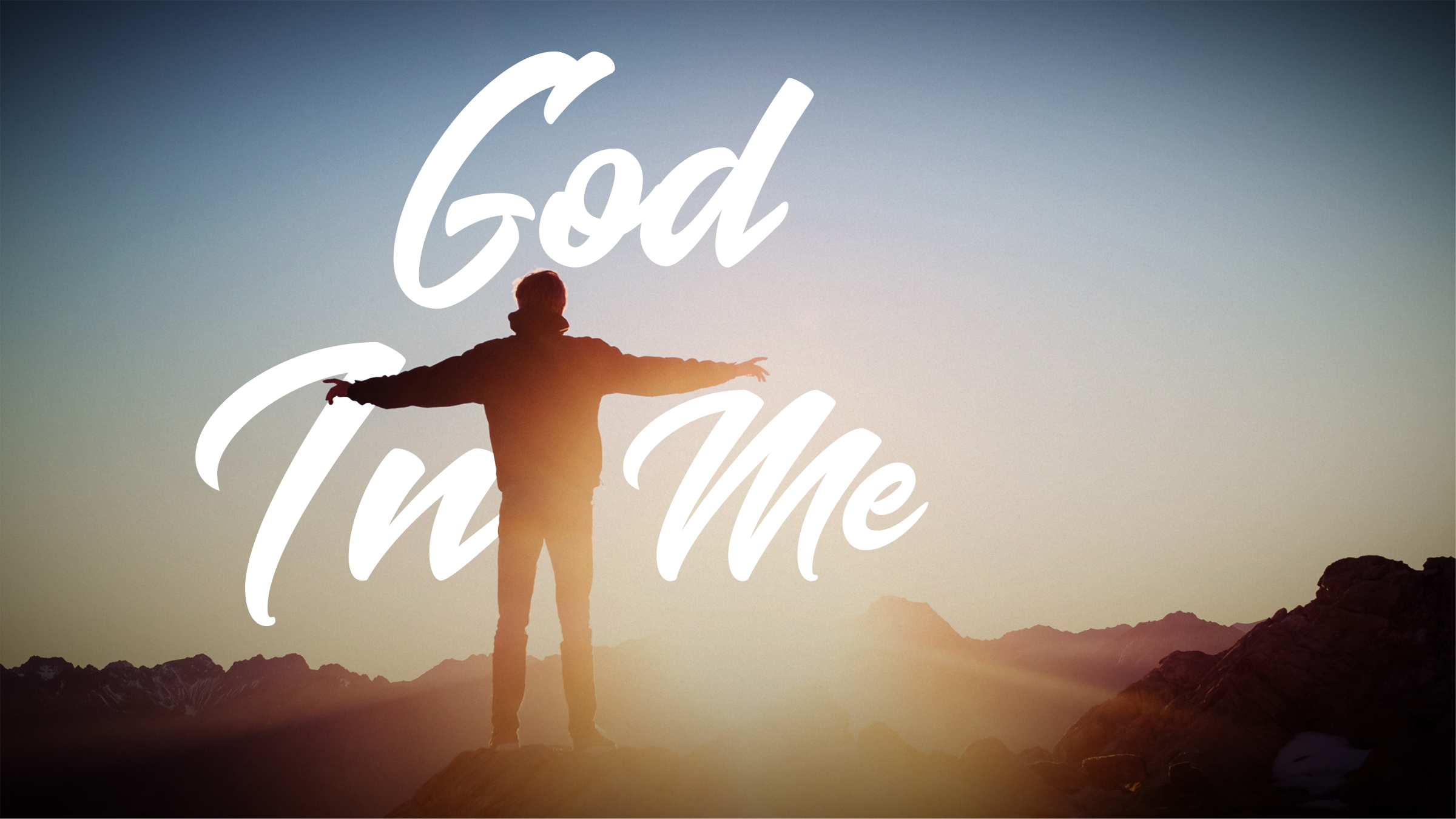 God in Me message series logo