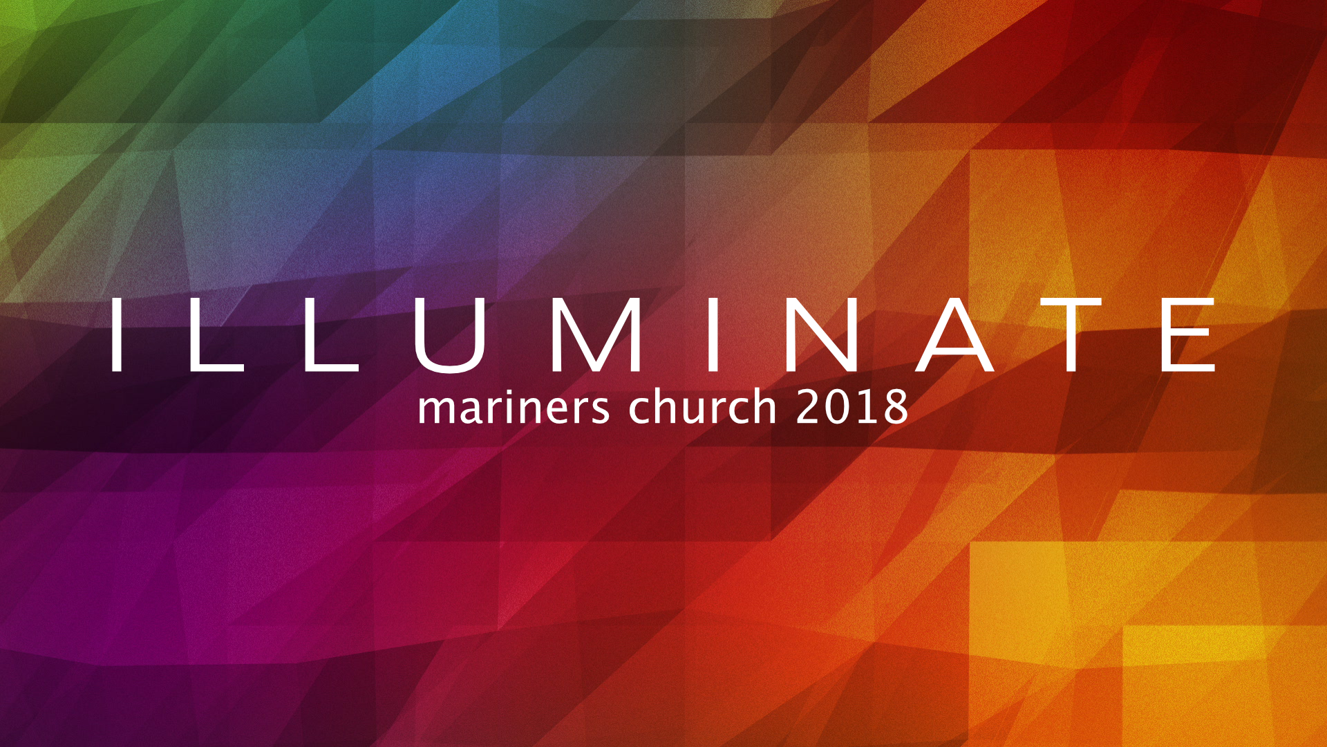 Illuminate message series logo