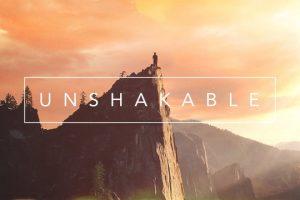 Unshakable message series logo