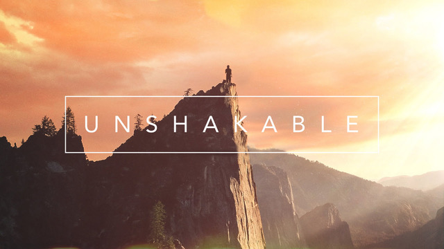 Unshakable message series logo