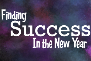 Finding Success in the New Year message series logo