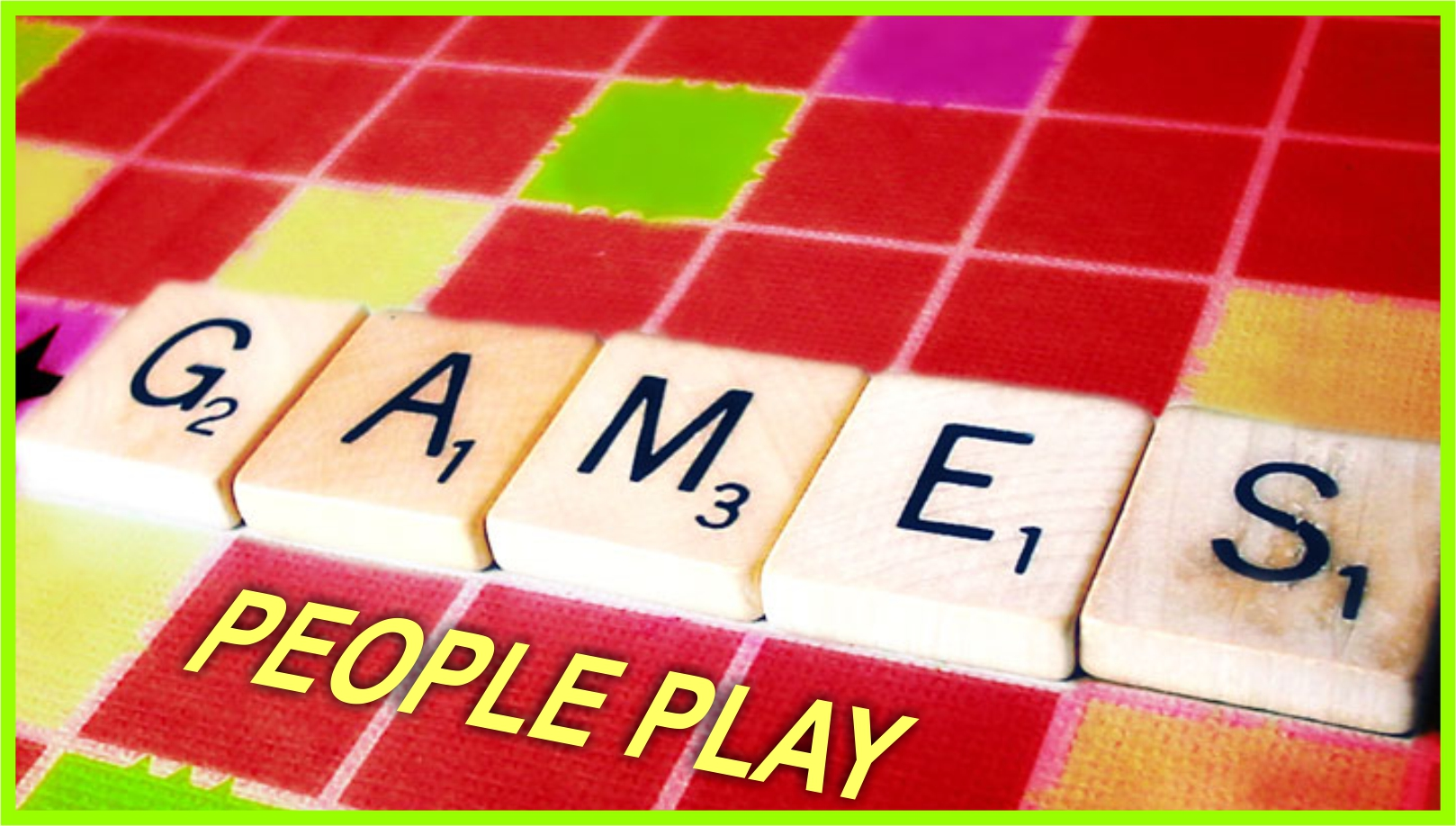Games People Play message series logo