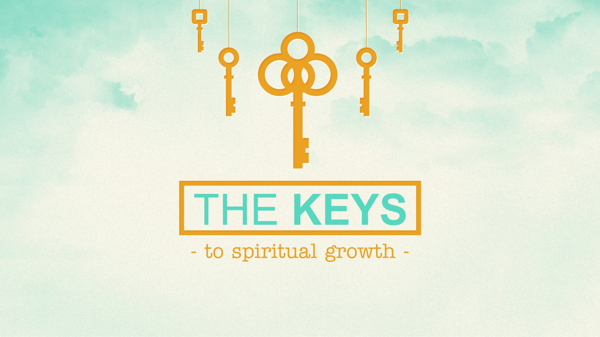 Keys to Spiritual Growth message series logo