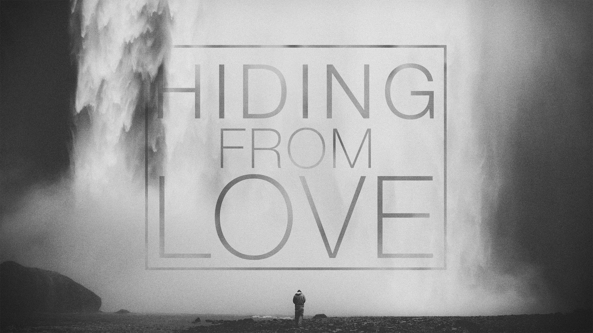 Hiding From Love message series logo