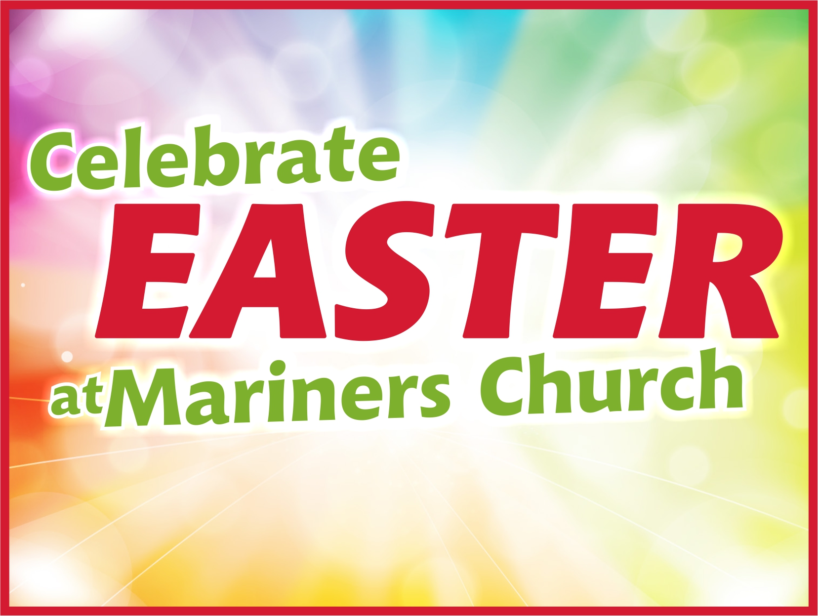 Easter at Mariners Church Logo