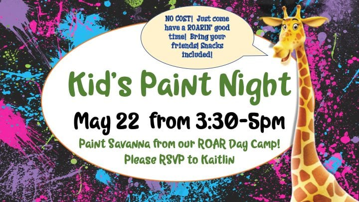 Kid's Paint Night