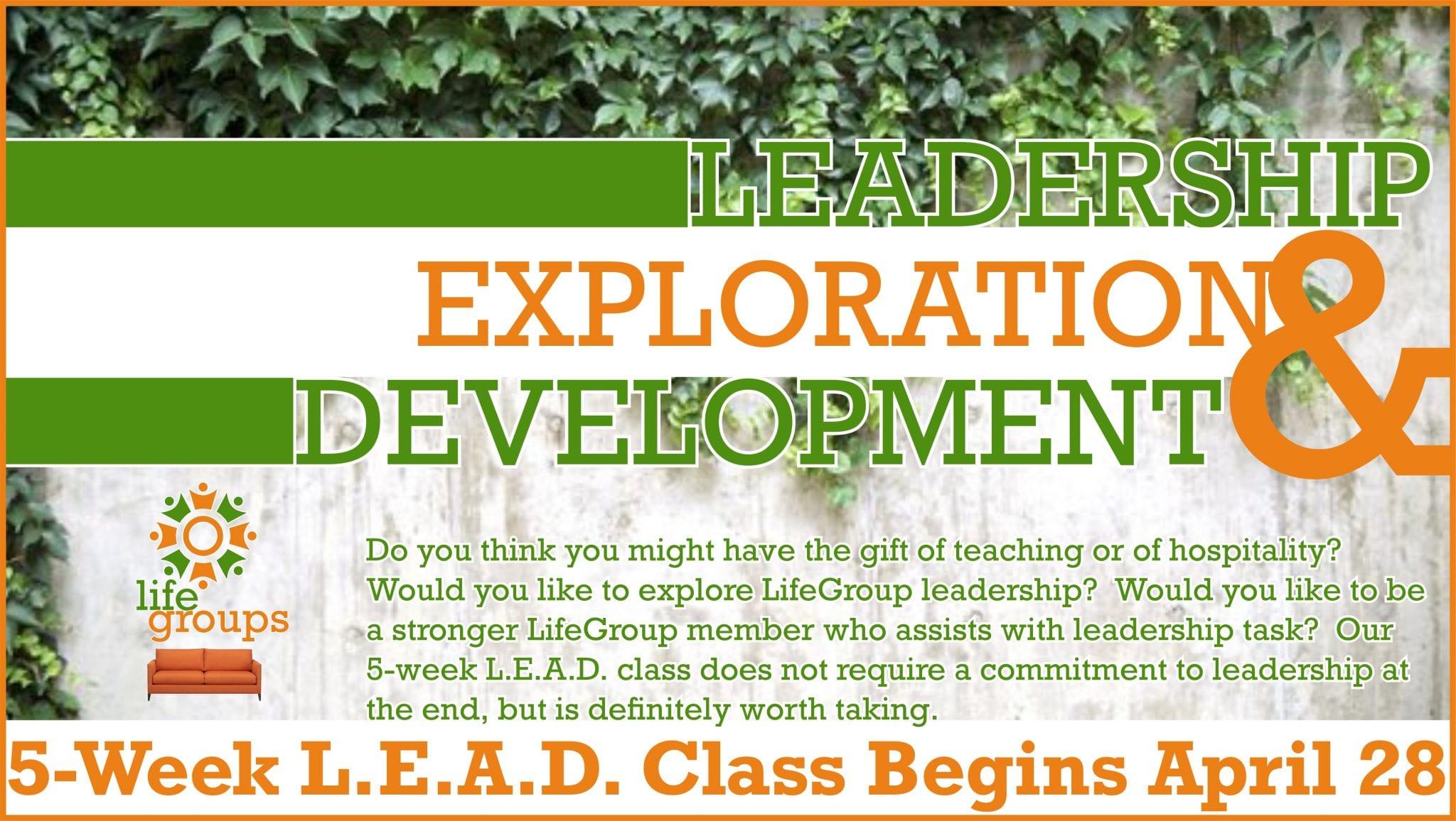 L.E.A.D. Class