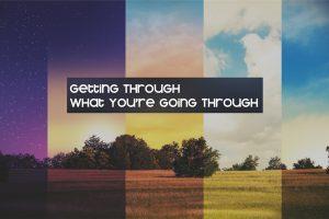 Getting Through message series logo