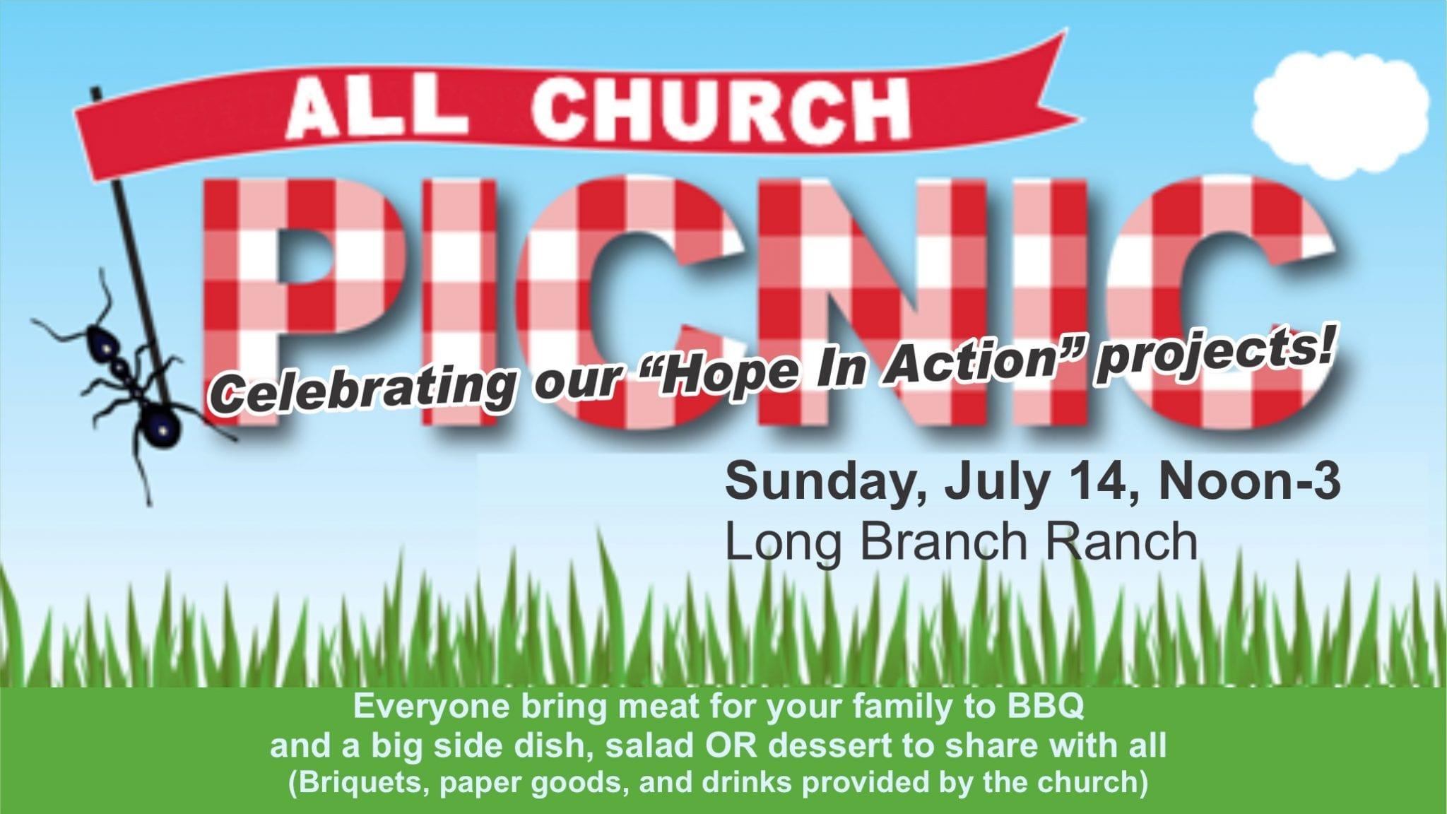 All-Church Potluck/Picnic